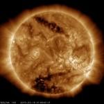 GAURI IMENSE descoperite pe Soare. Vin zilele INTUNERICULUI?