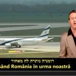 "Evreii plang dupa Romania: ""Aici este tara stramosilor nostri"""