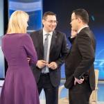 """Ponta, felicitari pentru Antena 3: """"Meritati aceasta victorie!"""" Cat a costat premiul obtinut de postul lui Voiculescu"""
