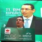 "Ponta, catre UDMR: ""Nu va ma rog nimic"""