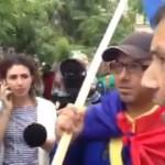 """Dacii au facut SCANDAL la protestul de la Universitate: """"ONG-urile n-are ce cauta aici. Noi suntem poporul roman"""""""