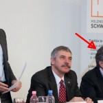 Cine facea lobby pentru Schweighofer? Vicepresedintele PSD, Mircea Dusa, la aceeasi masa cu patronul companiei