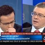 "Mihai Razvan Ungureanu, considerat ""TRADATOR DE TARA"" la Antena 3"