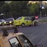 Taximetristii din Bucuresti, cei mai PROSTI soferi. Vezi ce accidente au produs – VIDEO