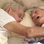 Au murit tinandu-se in brate, dupa 75 de ani de casnicie