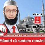 Mega-Moscheea lui Ponta scoate oamenii in strada. Protest in Piata Universitatii