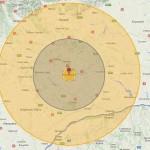 Ar RADE tot pana la Campina. Efectul exploziei unei Tsar Bomba rusesti la Bucuresti. HARTA INTERACTIVA