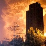 "Inregistrarea video a EXPLOZIEI apocaliptice din China: ""A fost ca o bomba NUCLEARA"""