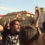 "Violente in Budapesta. IMIGRANTII scandeaza ""Fuck you!"" si ""Allahu Akbar"" – Vezi VIDEO"