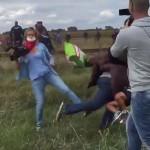 Razbunarea islamistilor. Au atacat postul TV la care lucra femeia cameraman care a lovit imigrantii