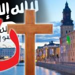 """""""CALIFATUL european"""", anuntat intr-un oras suedez. Crestini amenintati: """"Convertiti-va sau MURITI"""""""