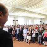 """Basescu revine in FORTA: """"Am energie sa continuam"""". A fost ales presedinte al Miscarii Populare"""