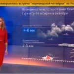 """Prognoza METEO la TV de stat din Rusia: """"Vreme perfecta pentru bombardamente"""" – VIDEO"""