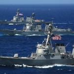 Tensiune EXPLOZIVA. SUA ignora avertismentele Chinei, trimit un distrugator langa insulele artificiale