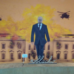 Patriotism in RUSIA: Putin lasa in urma sa Casa Alba in FLACARI
