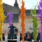 Filmare SPECTACULOASA in Piata Sfatului din Brasov pentru o reclama in INDIA – VIDEO