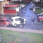 Un SOFER a reusit o performanta rara: TREI accidente in 40 de secunde – VIDEO