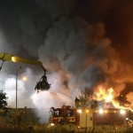firefighters-work-to-extinguish-flames-after-a-massive-blaze-torched-a-recycling-station-in-malmo