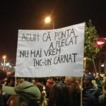 "Hai, Romania, in seara asta vom fi de 2 ori mai MULTI: ""Demisiile nu rezolva situatia. Continuam!"""