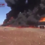 Imagini teribile. RUSIA a bombardat camioane cu petrol ISIS care mergeau spre Turcia – VIDEO
