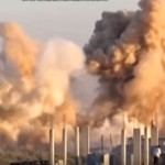 Asa arata un BOMBARDAMENT facut de RUSI in Siria. Jihadistii ISIS sunt socati – VIDEO