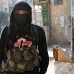 O noua TEHNICA a teroristilor: Femeie jihadista cu BEBELUS in brate s-a aruncat in aer