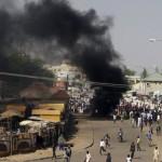 Inca un atac terorist la islamistilor. Trei FEMEI s-au aruncat in aer intr-o piata, 30 de morti