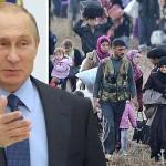 """Rusia a pus la cale CRIZA refugiatilor? PUTIN: """"SUA au dorit sa stea singure pe tronul Europei, iar acum vorbim de crize"""""""