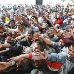 Planurile Bruxellesului pentru Grecia: Tabara de 300.000 de REFUGIATI in capitala Atena