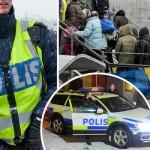 Raport OFICIAL: 52 de zone in Suedia in care politistii nu intra de FRICA imigrantilor