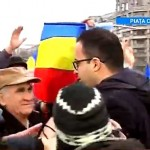 """Mitingul Antena 3 a esuat PENIBIL. Aproximativ 2.000 de pensionari au strigat """"Libertate"""""""
