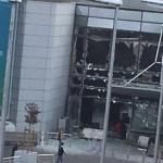 Imagini cutremuratoare – EXPLOZII pe aeroportul din Bruxelles, sunt numeroase victime