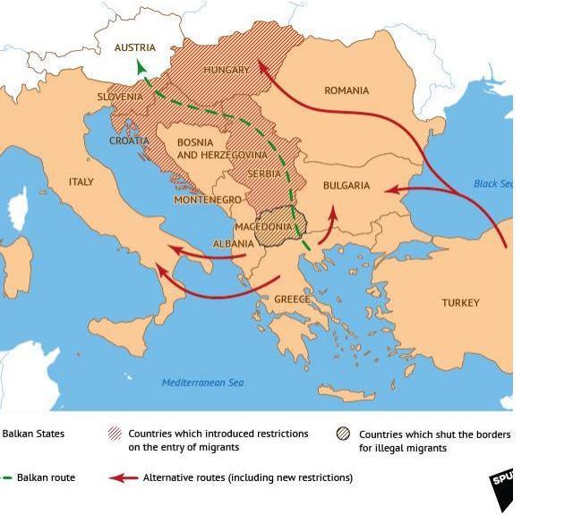Avertisment Din Rusia Acesta Ar Fi Noul Traseu Al Refugiatilor