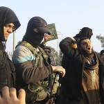 fighters-from-the-islamic-state-in-iraq-and-the-levant-isil-try-to-calm-civilians-demonstrating-against-the-rebel-infighting-in-aleppo