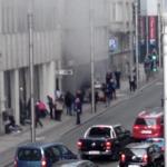 TEROAREA continua la Bruxelles. Inca o EXPLOZIE, intr-o statie de metrou