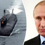 Ce plan nebunesc are Putin? Numar record de SUBMARINE rusesti in preajma a doua regiuni europene
