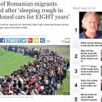 "Presa britanica ii ia din nou la ochi pe ROMANI: ""Asa o sa plecati acasa"""