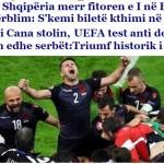"""""""Victorie ISTORICA"""". Ce scrie presa din Albania despre meciul cu Romania"""