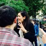 Protest in Piata Universitatii. Simpatizantii lui Clotilde, ULUITI de atitudinea jandarmilor