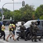 Politia sustine ca teroristii din Munchen NU sunt ISLAMISTI. Inca nu au fost prinsi