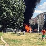 Explozii PUTERNICE in capitala Germaniei. FUM gros deasupra Berlinului – FOTO & VIDEO