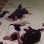 VIDEO cumplit din timpul atacului TERORIST din Germania. Tipete si focuri de ARMA
