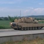 Iata unde au ajuns tancurile americane debarcate ieri la Constanta