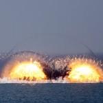 Cum vrea RUSIA sa bage NATO in sperieti. Imagini de la infricosatoarele exercitii MILITARE de la Marea Neagra – VIDEO