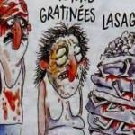 "Furie in Italia. Revista Charlie Hebdo ""si-a batut joc"" de cei care au murit in urma cutremurului – FOTO"