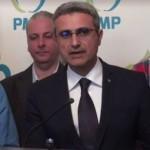 Robert Turcescu, primul pe lista de candidati a PMP. Surpriza, in ce judet va candida