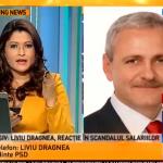 """Scandal urias intre Oana Stancu si Liviu Dragnea la Antena 3: """"M-ati JIGNIT/Nu sunteti procuror"""""""