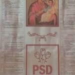 """PSD imparte masiv calendare ortodoxe cu sigla partidului langa Fecioara Maria. Lider PSD: """"Este un produs de calitate si de bun gust"""""""