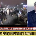 "Un nou derapaj la Romania TV: ""Protestatarii isi defaimeaza si desfid parintii, pe cei care le-au dat viata si i-au crescut"" – Video"