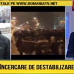 """""""O noua incercare de destabilizare a tarii"""". Romania TV a pus deja in functiune masinaria de intoxicare"""